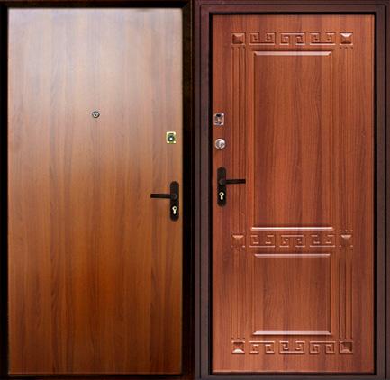 входные двери мдф ламинированные пвх