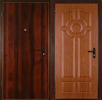 ламинированным входным дверям