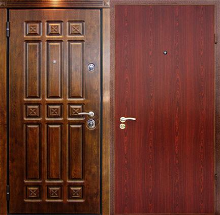 железные двери массив дуба