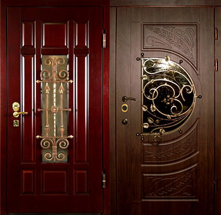 филенчатые металлические двери через интернет