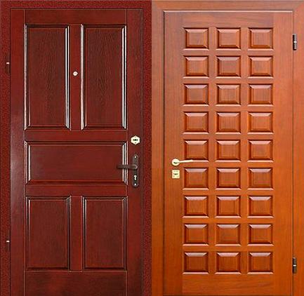 металлическая филенка двери