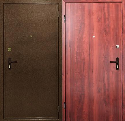 дверь стальная покрытие порошок ламинат