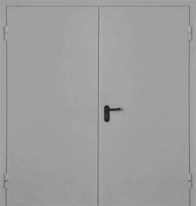 двери металлические двупольные марка