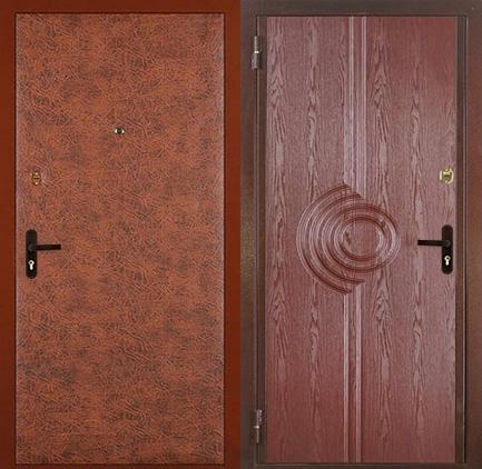 дешёвые металлические двери винилискожа