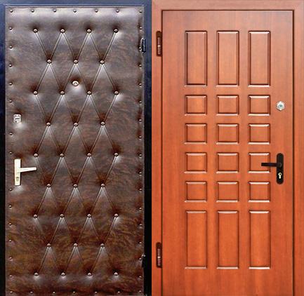 дверь металлическая входная винилискожа купить