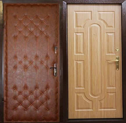 железные двери порошок дутые