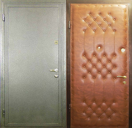 глухая металлическая дверь пулестойкая класс защиты 2