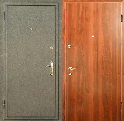 металлические двери порошок ламинат цены