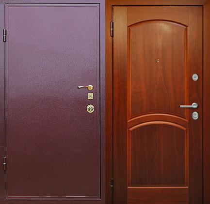 железные двери стоимостью до 10000 рублей